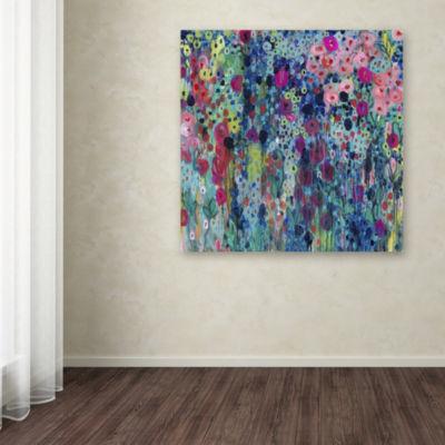 Trademark Fine Art Carrie Schmitt Painted StringsGiclee Canvas Art