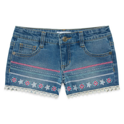Freestyle Revolution Denim Shorts - Big Kid Girls