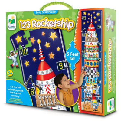 The Learning Journey Long & Tall Puzzle- Rocket Ship