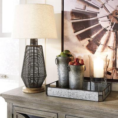 Signature Design by Ashley® Mandla Resin Table Lamp