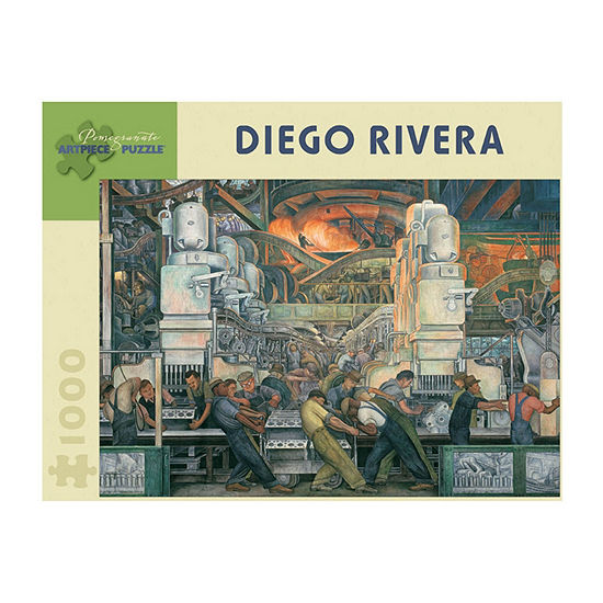 Pomegranate Communications, Inc. Diego Rivera - Detroit Industry Puzzle: 1000 Pcs