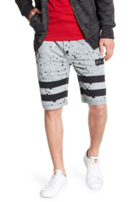 Tailored Recreation Splatter Paint Short