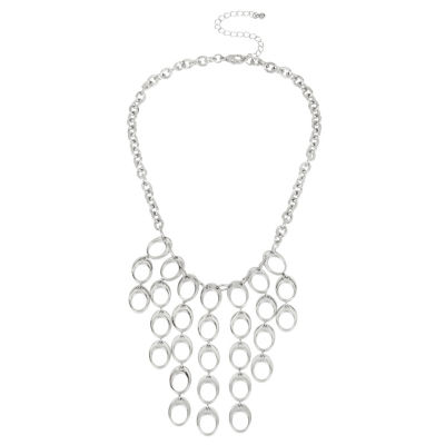 Worthington Womens Statement Necklace