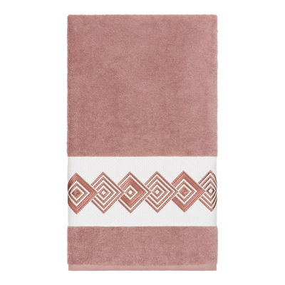 Linum Home Textiles 100% Turkish Cotton Noah Embellished Towel Collection