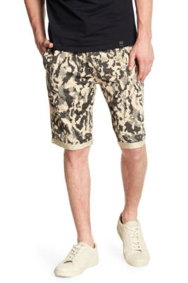 Camo Short With Side Pockets