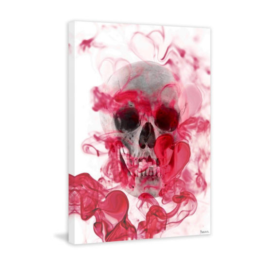 Skull 2 Painting Print on Wrapped Canvas