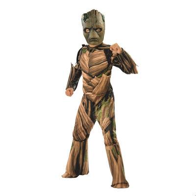 Marvel Avengers Infinity War Teen Groot Deluxe Boys Costume