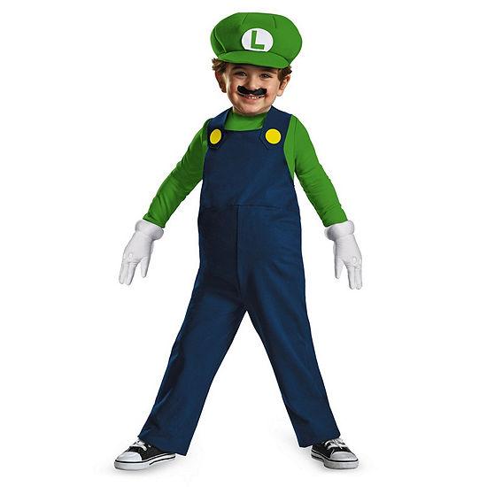Luigi Toddler Costume 3t 4t
