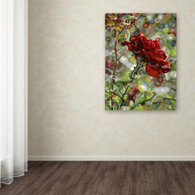 Trademark Fine Art Mandy Budan Last Rose Of SummerGiclee Canvas Art