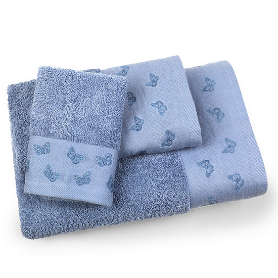 Butterfly 3-pc. Bath Towel Set