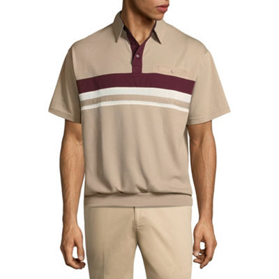 Palmland Mens Short Sleeve Polo Shirt