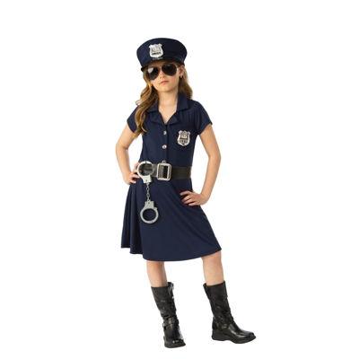 Girl Police Officer Costume