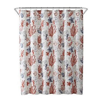 Multi Coastal Shower Curtain