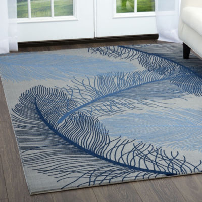Home Dynamix Minerva Monet Graphic/Print Rectangular Rug
