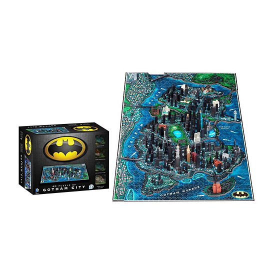 4d Cityscape Batman Gotham City