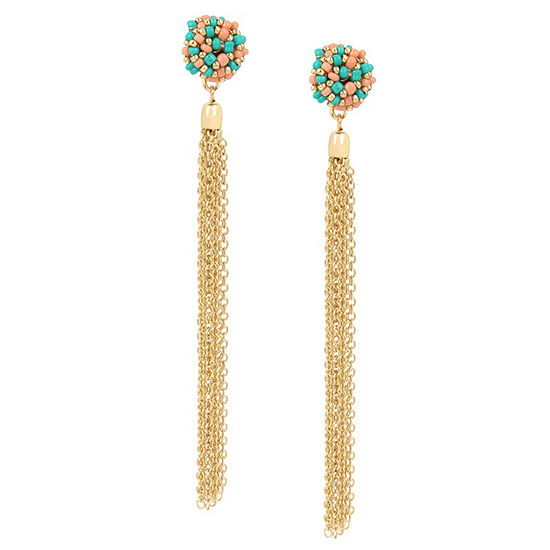 Nicole By Nicole Miller 1 Pair Drop Earrings