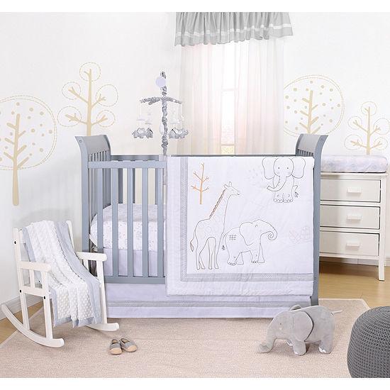 The Peanutshell Tons Of Love 3-pc. Crib Bedding Set