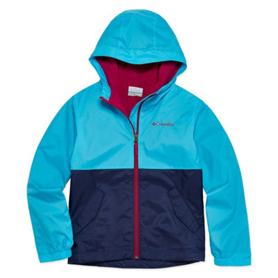 Columbia Lightweight Lined Rain Jacket - Girls