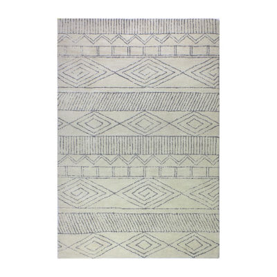 Ramsey 100% Wool Hand Tufted Area Rug