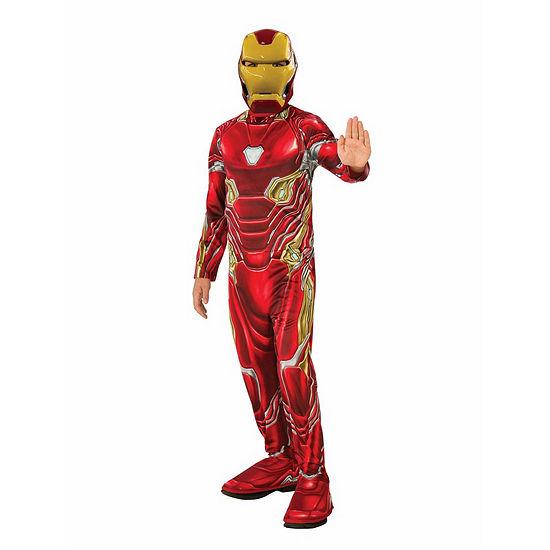 Marvel Avengers Infinity War Iron Man Boys Costume
