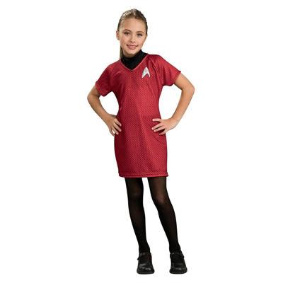 Star Trek Girls Deluxe Uhura Costume