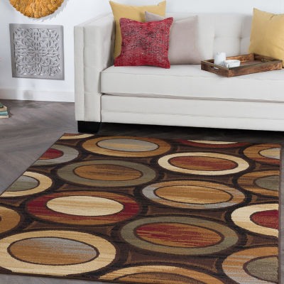 Tayse Elegance Martin Rectangular Indoor Area Rug