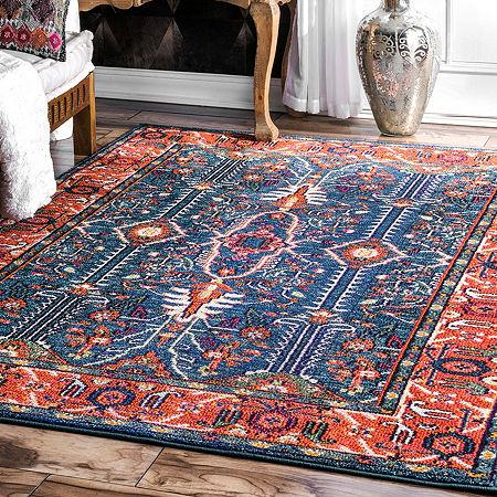 nuLoom Vintage Maurer Persian Area Rug, One Size , Multiple Colors