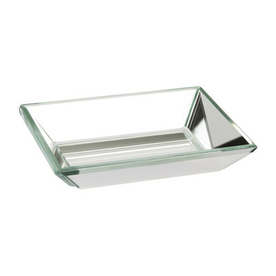 Crystal Mirror Soap Dish