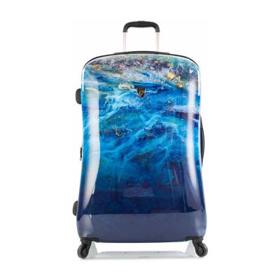 Heys Blue Agate 30 Inch Hardside Luggage
