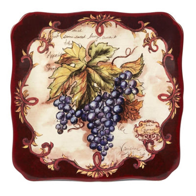 Certified International Vintners Journal Serving Platter