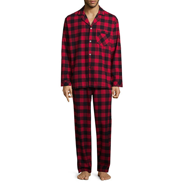 North Pole Trading Company Plaid Button Down 2 Piece Set -Men's