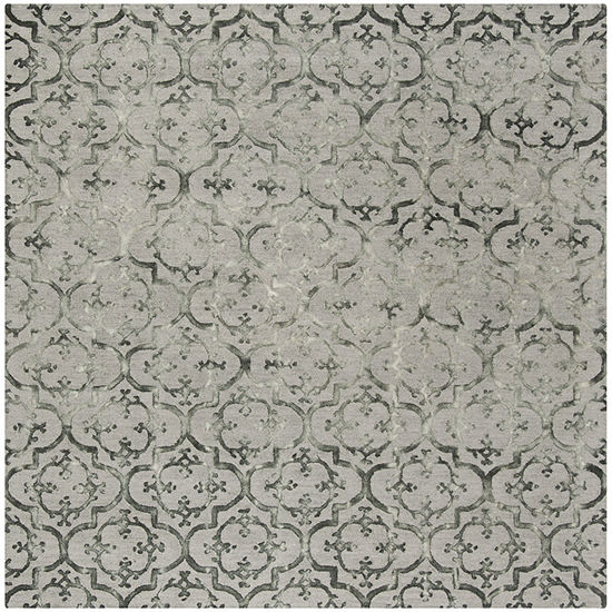 Safavieh Dip Dye Collection Aniyah Damask Square Area Rug