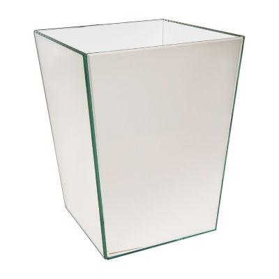 Crystal Mirror Waste Basket