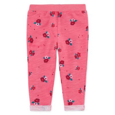 Okie Dokie Floral Jogger Pants - Baby Girl NB-24M