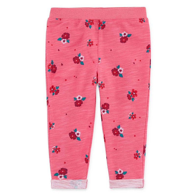 Okie Dokie Floral Jogger Pants – Baby Girl NB-24M