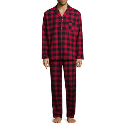 North Pole Trading Company Plaid Coat Front 2 Piece Set -Men's