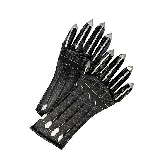 Marvel Black Panther Movie Child Deluxe Black Panther Gloves With ClawsOne-Size