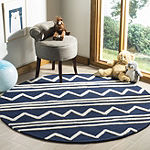 Safavieh Kids Collection Fion Geometric Round Area Rug