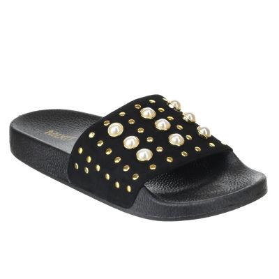 Mixit Pearl Pool Womens Slide Sandals