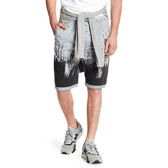 Patched and Splatter Paint Short