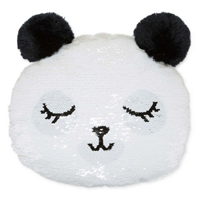 Arizona Panda Sequin Pillow