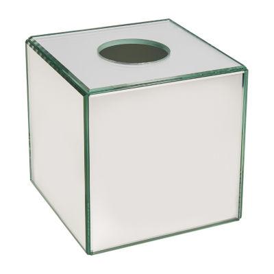 Crystal Mirror Tissue Box Cover