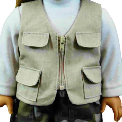 The Queen's Treasures 18 Inch Doll Fishing Clothes& Accessories