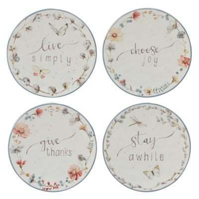 Certified International Country Weekend 4-pc. Appetizer Plate