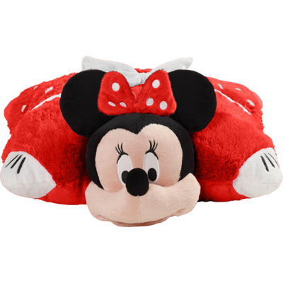 "Disney Red Minnie Mouse 16"" Pillow Pet"