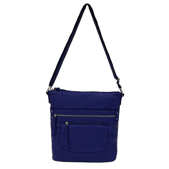 St. John's Bay Zip Crossbody Crossbody Bag