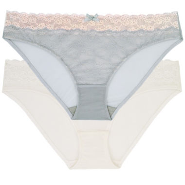 Dorina 2 Pair Polyamide Brief Panty