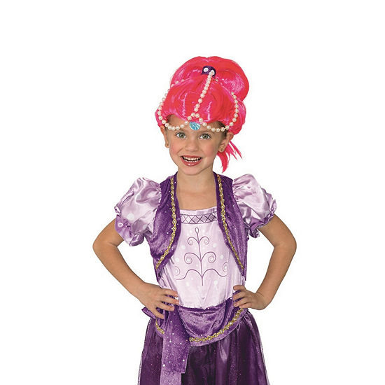 Shimmer And Shine-Shine Wig One-Size