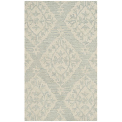 Safavieh Micro-Loop Collection Tracery Damask Area Rug