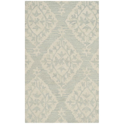 Safavieh Micro-Loop Collection Tracery Damask AreaRug